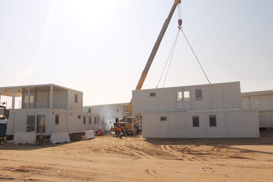 container-two-storey-building