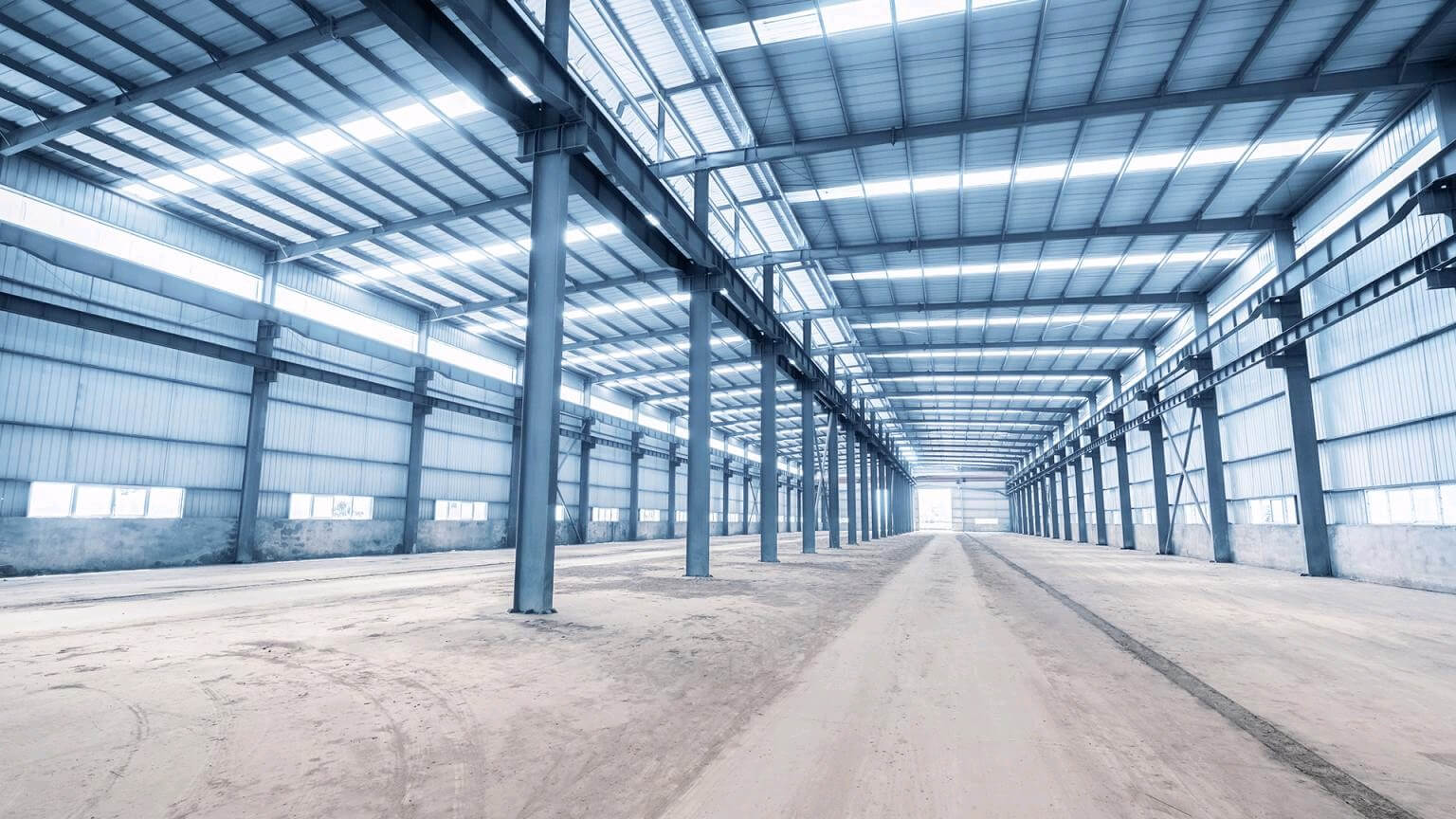 warehouse-prefab-column-IPE-welded-section